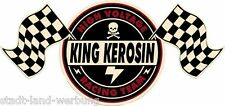King queroseno High Voltage Racing Team 3xl 60cm pegatina/Blues/vintage/Retro
