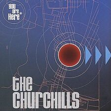 You Are Here The Churchills MUSIC CD