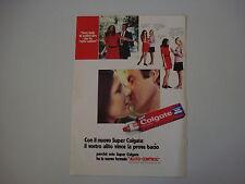 advertising Pubblicità 1971 COLGATE DENTIFRICIO