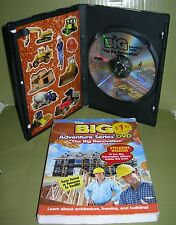 """THE BIG RENOVATION Adventure Series See How a HOUSE is """"REBUILT""""  DVD & Stickers"""
