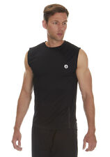 Mens / Adults Redtag Active Sleeveless Running Vest Sportswear Top / T-shirt
