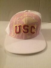 USC Trojans Top of the World Doublevision Stretch fit hat S/M White