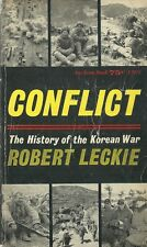 Conflict The History of the Korean War 1962 Vintage Paperback Very Good
