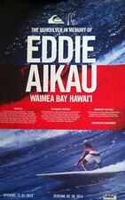 2013-14 Quiksilver EDDIE AIKAU BIG WAVE SURF POSTER Hawaii Surfing Slater Irons