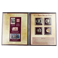 U.S. Proof Dollar Coins Set With Matching Stamps Postal Commemorative Society