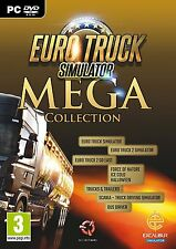 Euro Truck Mega Collection [PC-DVD Computer, Region Free, Simulation] NEW