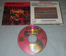 Doom Mania - PC Computer CD Video Game Levels/Graphics/Upgrades Pack - RARE!