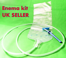 Enema Kit 1,75l enema bag Anal Douche Irrigation Colonic cleansing Disposable