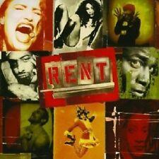 A. RAPP/A. PASCAL/+ - RENT/BROADWAY CAST RECORDING  2 CD MUSICAL SOUNDTRACK NEU