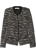 ISABEL MARANT / BOUCLE TWEED JACKET SWEATER CARDIGAN / 38 / LA GARCONNE