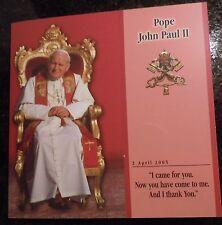 2005 POPE JOHN PAUL II MEMORIAL COIN SET