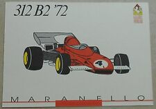 FERRARI Galleria 1993 312b2 f1 1972 Scheda Card brochure prospetto book libro Press