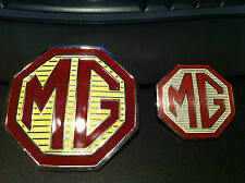 MG Badge Front Grille and rear boot badges for MG ZR ZS