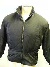 womens EDDIE BAUER THINSULATE LITE LOFT ZIP COAT BLACK JACKET MEDIUM CLEAN