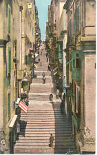 Carte postale ancienne MALTE MALTA strada st lucia