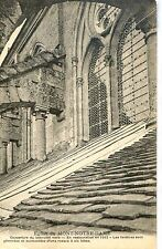 CP 02 AISNE - Eglise du Mont-Notre-Dame - Couverture bas-côté nord