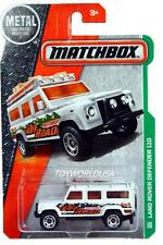 2016 Matchbox #110 MBX Explorers Land Rover Defender 110