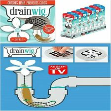 Home Bathroom Shower Cleaner Wig Drain Chain Hair Clogs Cleaning Tools