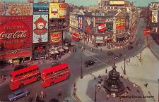 B97150 coca cola skol double decker bus london piccadily circus   uk