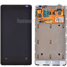For Nokia Lumia 800 N800 LCD Display Touch Screen Digitizer +Front Frame Black