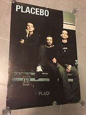 Placebo 90 X 64 Cm Promo Poster On Tour Unfolded And Excellent Condition