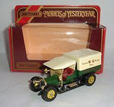 Matchbox Yesteryear No. Y-13, 1918 Crossley 'W&G', - Superb.