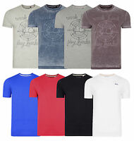 Lee Cooper Printed Plain New Men's T-Shirts Cotton Plain Jersey Tee Top