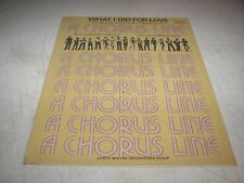 WHAT I DID FOR LOVE A CHORUS LINE SHEET MUSIC MARVIN HAMLISCH EDWARD KLEBAN