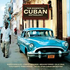 2 CD BOX ESSENTIAL CUBAN ANTHOLOGY GONZALEZ FERRER CRUZ PUENTE PRADO ARNAZ