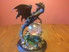 "Franklin Mint Bronze ""Dragon Of Wisdom"" By Julie Bell"