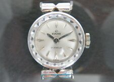 100% Authentic RADO Hand Winding Ladies Wrist Watch 21Jewels Swiss Made Vintage