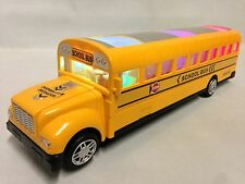 "B/O Bump & Go, 11.5"" School Bus, Flash Light, Music, Sound, Kid for Toys"