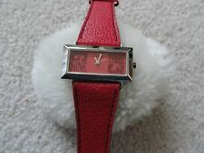 Red Terner Quartz Ladies Watch