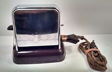 Antique Vintage THE KWIKWAY TOASTER Collectible Art Deco Working Toaster 1930's