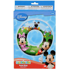 """DISNEY MICKEY MOUSE CLUBHOUSE SWIM RING 56CM/22"""""""