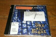 Sax All Night CD John Tesh Jazz Rocket Man Red Rain Polar Express Dana Point OOP