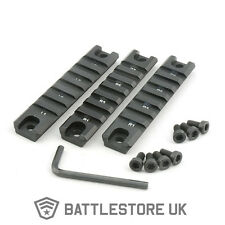 3 Piece G 36 C K Rail Set Kit Airsoft Weaver 20mm x 98mm Side Top Mount Three