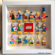 LEGO Minifigure Display Case Frame Series  11 12 13 14 Movie Simpsons starwars