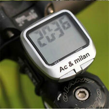 New Waterproof Bicycle Bike Computer Backlight Cadence Odometer Speedometer