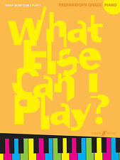 What Else Can I Play? Preparatory Grade Piano Solo Beginner FABER Music BOOK