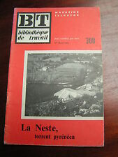 BT 308 1955 La Neste CADEAC LES BAINS SAINT LARY ARREAU ANCIZAN EGET LABARTHE DE