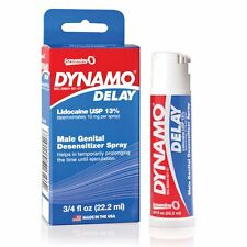 Dynamo Delay Male Genital Desensitizer Prolonging Spray Performance Enhancer