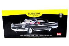 SunStar Platinum 1959 Mercury Park Lane Closed Convertible Black 1/18 Diecast