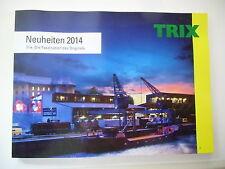 1 Neuheitenkatalog 2014 Trix H0 Minitrix Express HO +