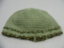 GREEN HAND KNITTED - ONE SIZE - STOCKING CAP BEANIE HAT!