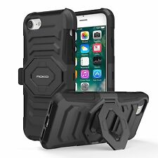 iPhone 7 Case - MoKo Shock Absorption Scratchproof Full Body Rugged Cover Belt