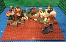 Custom Lego WW2 Wehrmacht Field Kitchen WIth Base Plate & Accessories