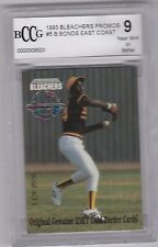 1993 Bleachers Promos BARRY BONDS BCCG 9 BLOWOUT SALE!!!!!!