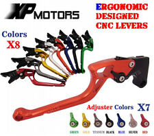 Ergonomic CNC Adjustable Brake Clutch Levers BMW F650GS 2008 2009 2010 2011 2012