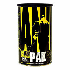 Universal Animal Pak 44 Packs Rigorous Training FREE Black ANIMAL TEE (L) + SHIP